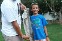 My first striped bass