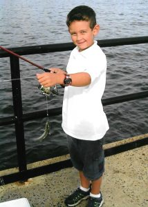 jakes-first-fish